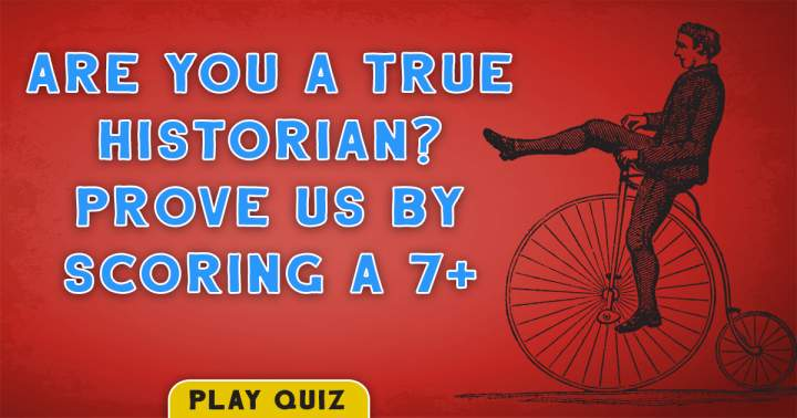Quiz For Historians