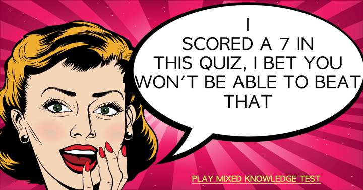 Challenging Knowledge Test